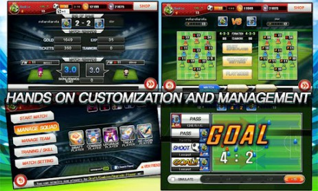 Скриншот Soccer Superstars 2012 – суперзвездный футбол
