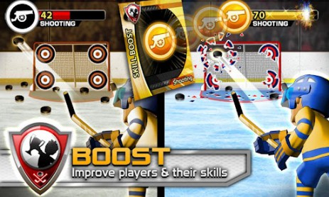 BIG WIN Hockey 2014 – своя хоккейная команда | Android