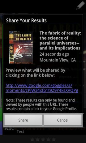 Google Goggles | Android