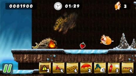 Скриншот запасливый хомячок