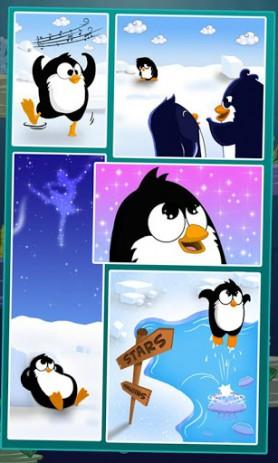 Скриншот прыгающий пингвин