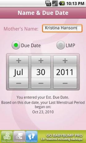 BabyBump (Pregnancy App) | Android
