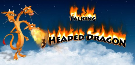 Talking 3 Headed Dragon - thumbnail