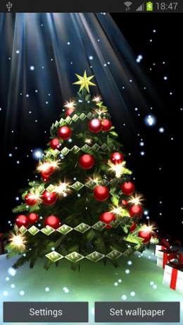 Christmas Tree 3D - рождественская елка в 3D | Android