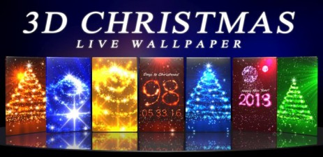 3D Christmas Live Wallpaper - Новогодние живые 3D обои - thumbnail