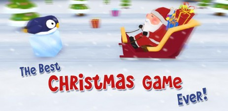 """Poster <span lang=""""ru"""">The Best Christmas Game Ever - приключения Деда Мороза</span>"""