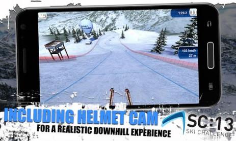 Скриншот Ski Challenge 13 FREE – лыжный спорт