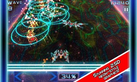Скриншот Hyperwave – борьба с захватчиками