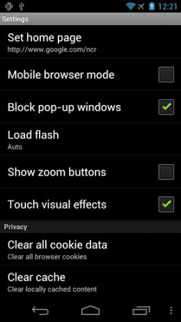 Puffin Web Browser - браузер поддерживающий флеш | Android