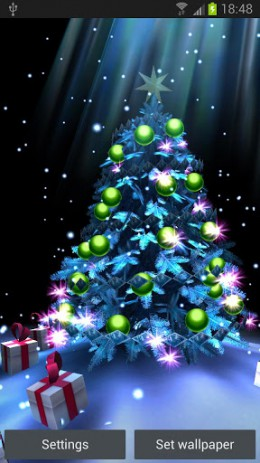 Christmas Tree 3D 3D descargar en Android