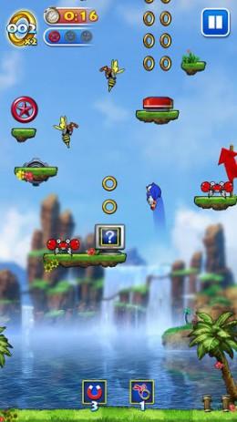 Скриншот Sonic Jump