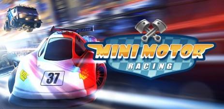Poster гонки — Mini Motor Racing