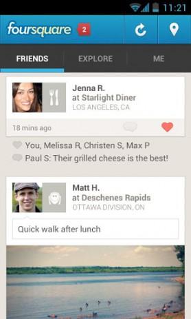 Foursquare | Android