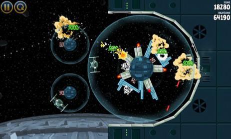Angry Birds Star Wars - звездные войны злых птиц | Android