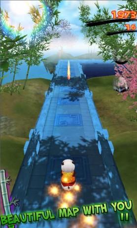 Скриншот Panda Run – беги панда!