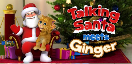 Poster Talking Santa meets Ginger – говорящий Санта