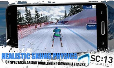 Ski Challenge 13 FREE - лыжный спорт | Android