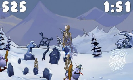 Скриншот Snowmen Story: Dark Side