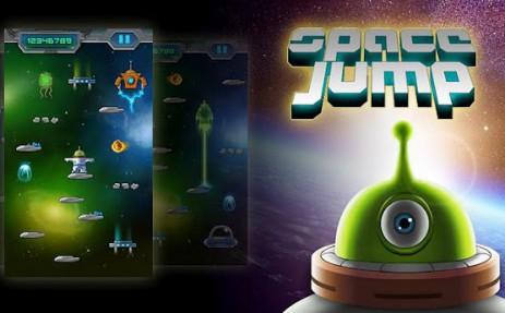 Poster Space Jump — Космический прыжок