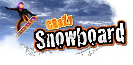 "Poster <span lang=""ru"">Crazy Snowboard</span>"