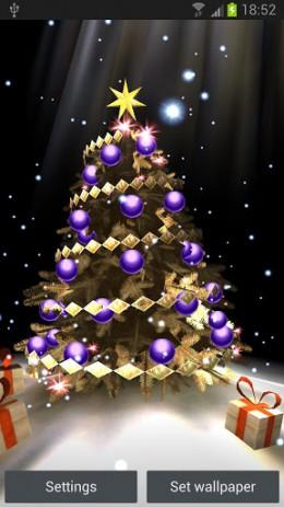 Скриншот Christmas Tree 3D – рождественская елка в 3D