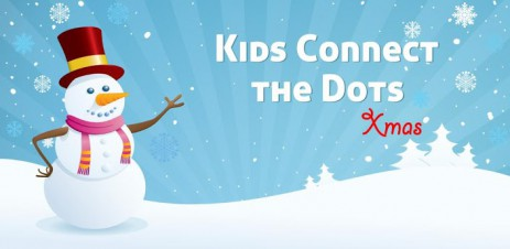 Poster Kids Connect the Dots Xmas