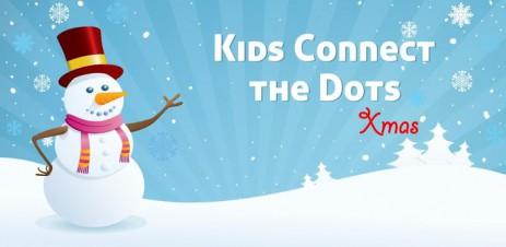 """Poster <span lang=""""ru"""">Kids Connect the Dots Xmas</span>"""